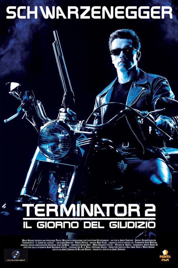 Poster italiano di Terminator 2 - Il giorno del giudizio