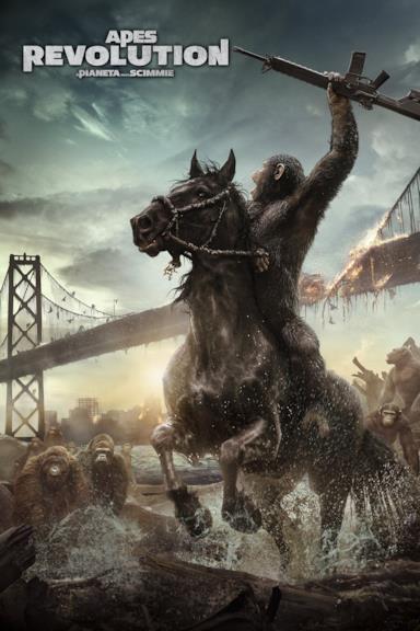 Poster Apes Revolution - Il pianeta delle scimmie