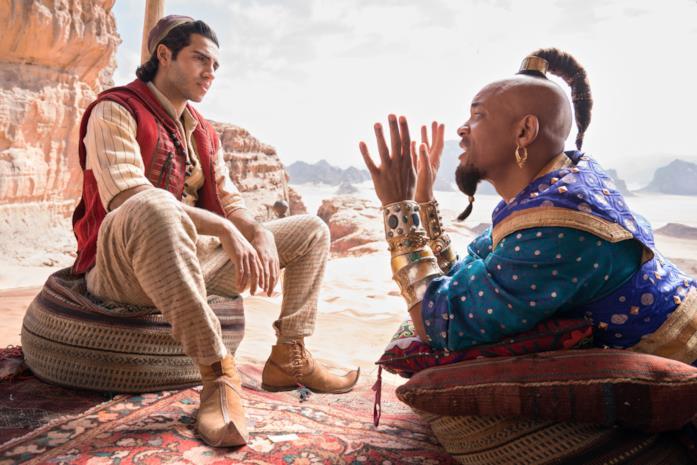 Aladdin e il Genio nel remake 2019