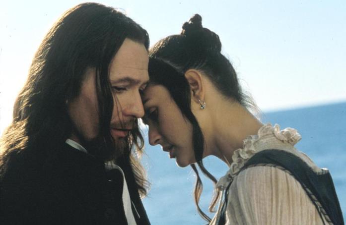 Una scena del film La lettera scarlatta