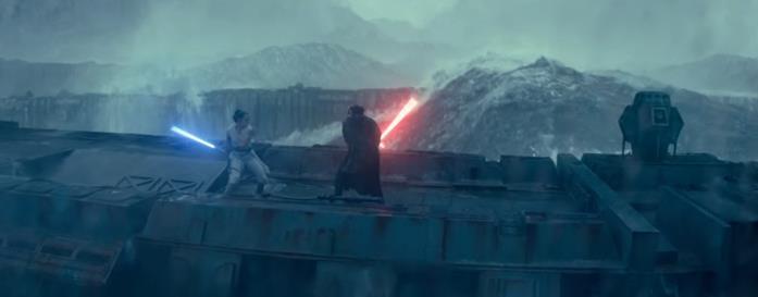 Rey e Kylo Ren si affrontano sui resti della Morte Nera nello spot TV di Star Wars: L'Ascesa di Skywalker