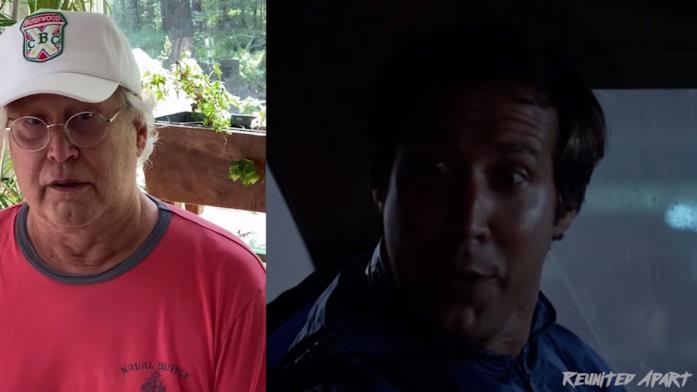 Chevy Chase e il suo personaggio Clark
