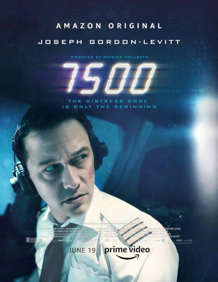 Primo piano di Joseph Gordon-Levitt nel poster di 7500