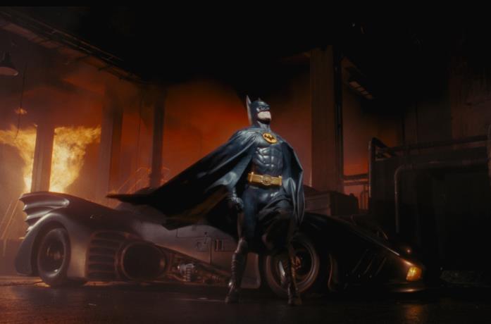 Un'immagine di Batman del 1989