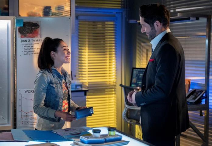 Ella scopre la verità su Lucifer nella stagione finale