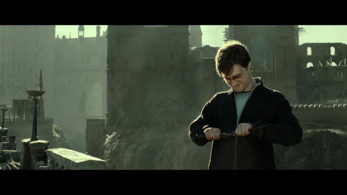 Daniel Radcliffe sul set del film