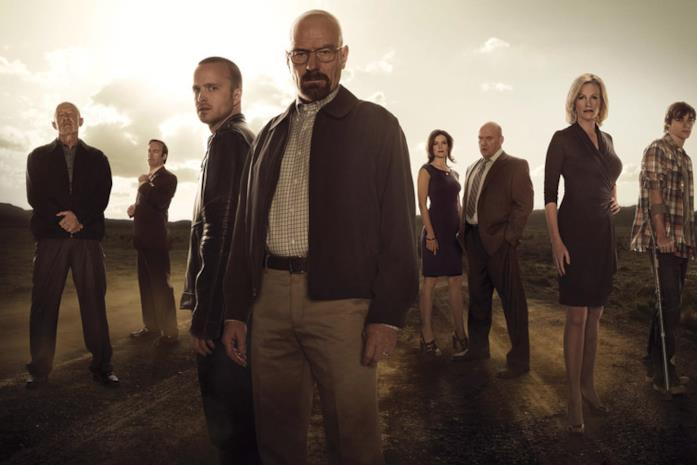 Il cast di Breaking Bad
