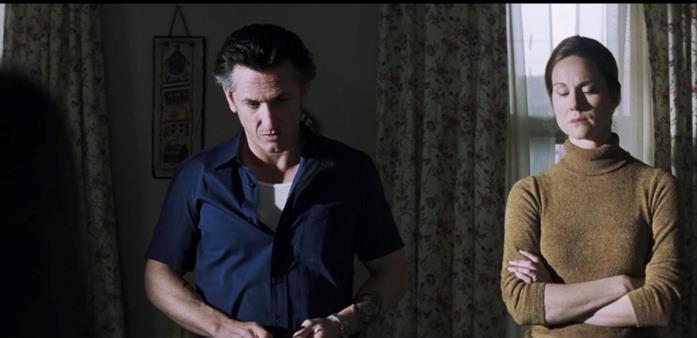 Sean Penn in una scena di Mystic River