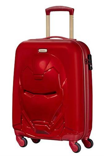 Samsonite Disney Ultimate 2.0 - Bagaglio a mano, 55 cm, 35.5 L, Rosso (Iron Man Red)