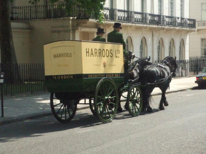 Una carrozza che riforniva Harrods