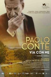 Poster Paolo Conte, Via Con Me
