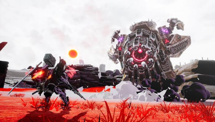 Daemon X Machina combattimento robot