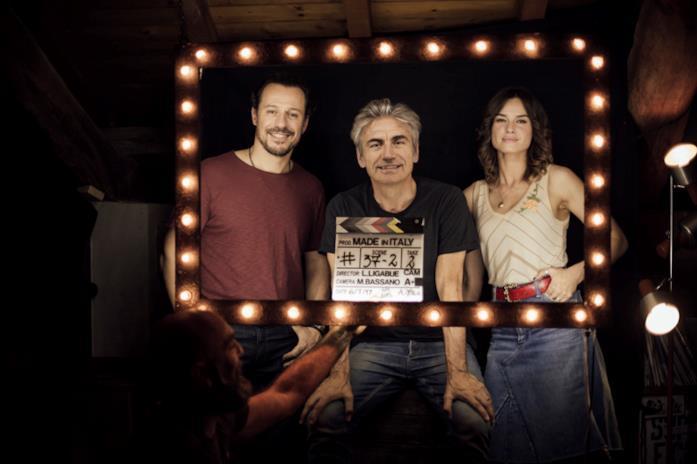 Stefano Accorsi, Kasia Smutniak e Ligabue in Made in Italy
