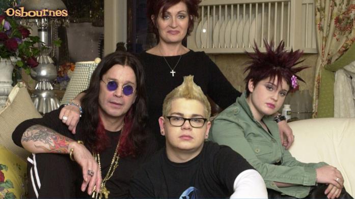 Una scena di The Osbournes