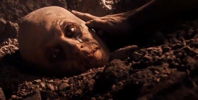 La testa di Wade Wilson nel primo film dedicato a Wolverine