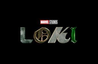 Il logo della serie Loki