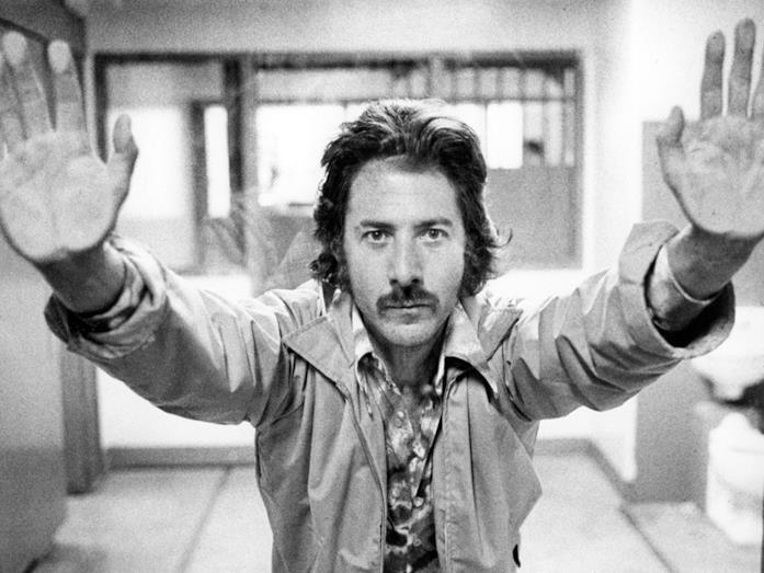 Dustin Hoffman, volto celebre del cinema americano ani '70