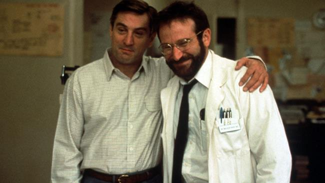Robin Williams nel film Risvegli