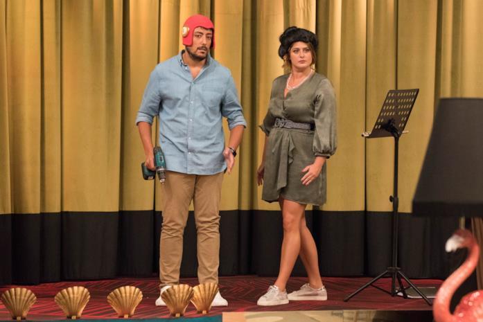 LOL - Chi ride è fuori, Ciro e Michela Giraud