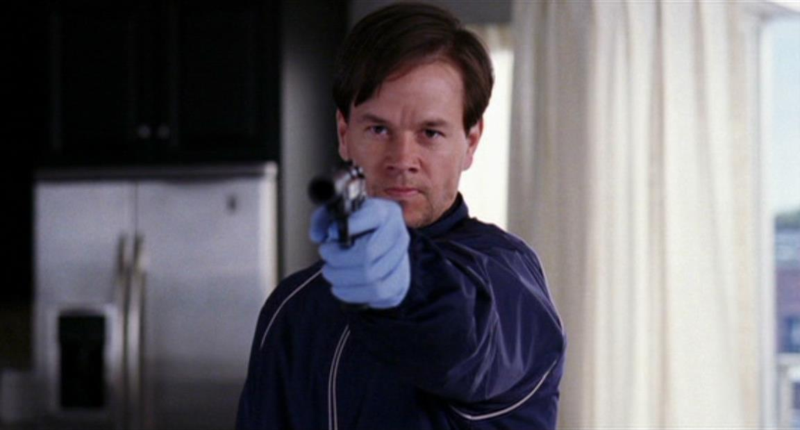 Mark Wahlberg nel finale di The Departed