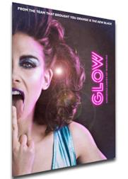 Instabuy Poster - Locandina - Serie TV - Glow Variant 01 A4 30x21