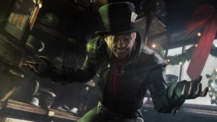 Un'immagine di Mad Hatter in Batman: Arkham Origins