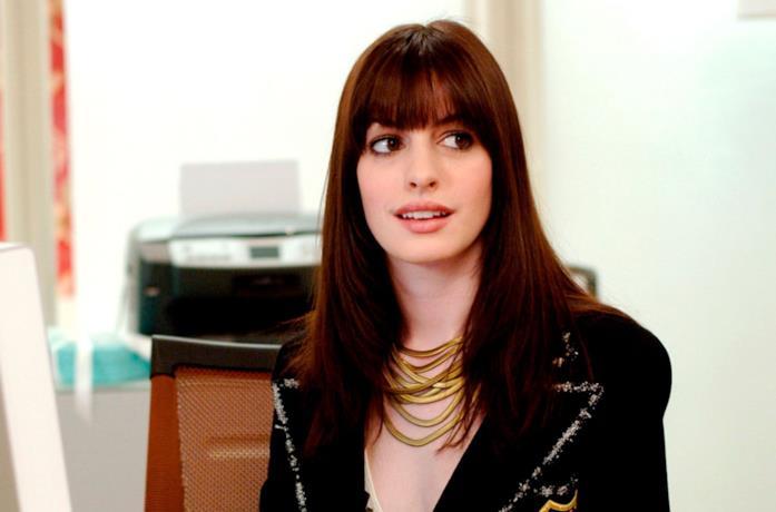 L'attrice Anne Hathaway
