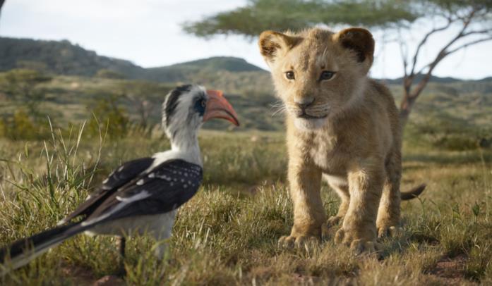 Il re leone, scena film