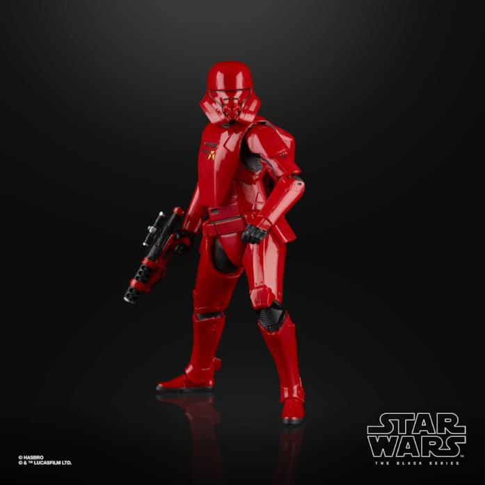 L'action figure Star Wars The Black Series Sith Trooper