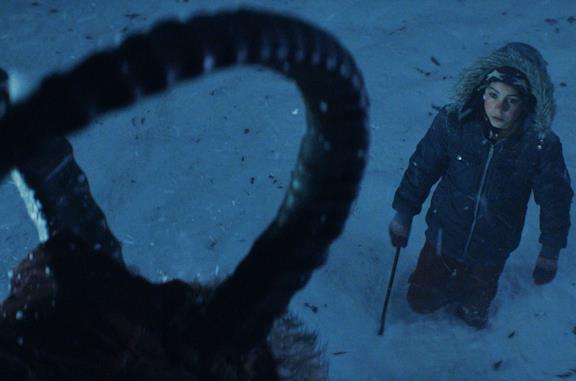 Una scena del film Krampus - Natale non è sempre Natale