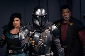 Un'immagine del quarto episodio di The Mandalorian