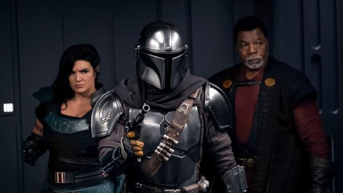 Un'immagine del quarto episodio di The Mandalorian