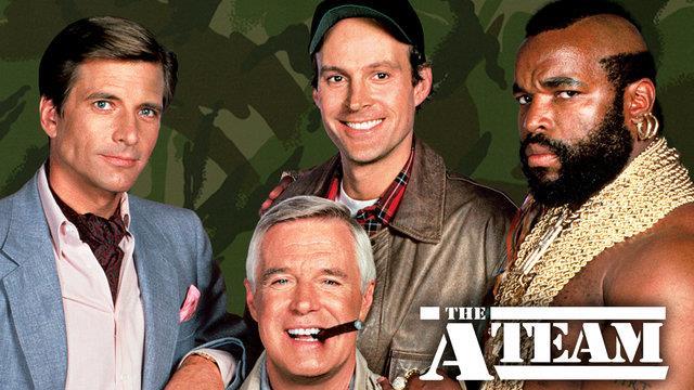 I protagonisti della serie A-Team