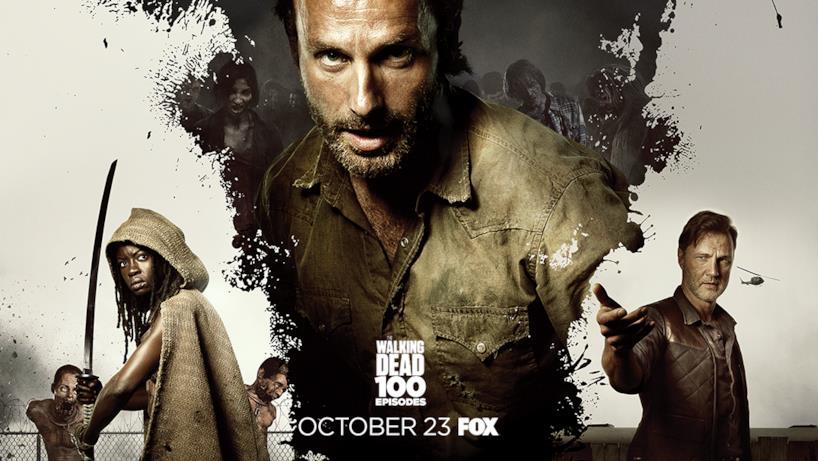 Poster episodio 100 di The Walking Dead: stagione 3
