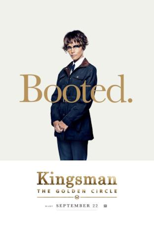 Ginger (Halle Berry) nel character poster di Kingsman 2