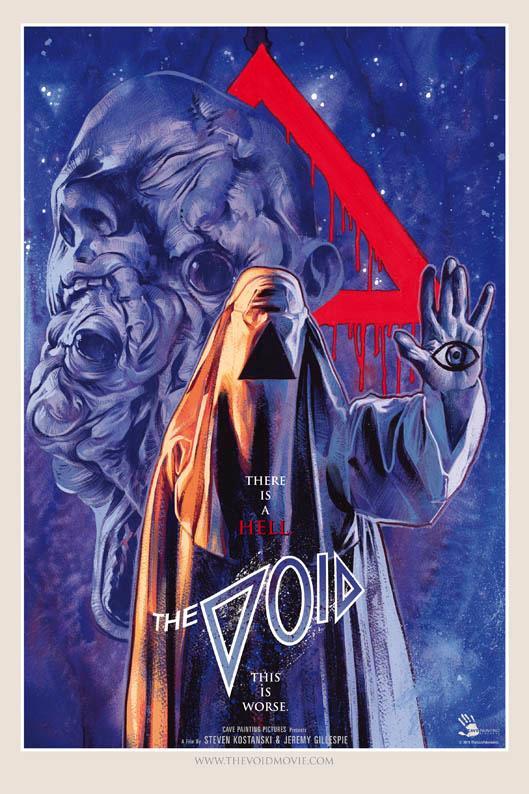 Il poster di The Void