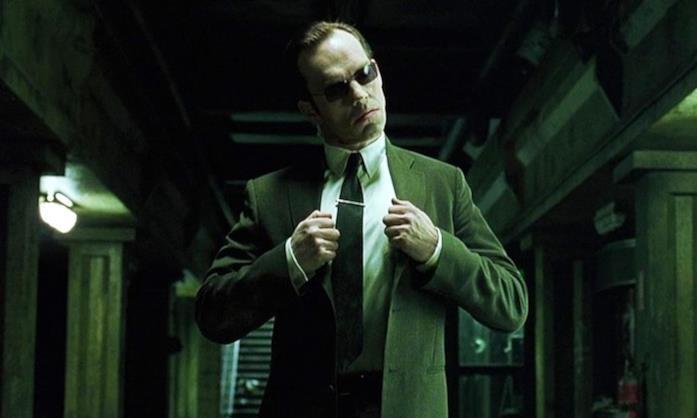 Un'immagine dell'Agente Smith