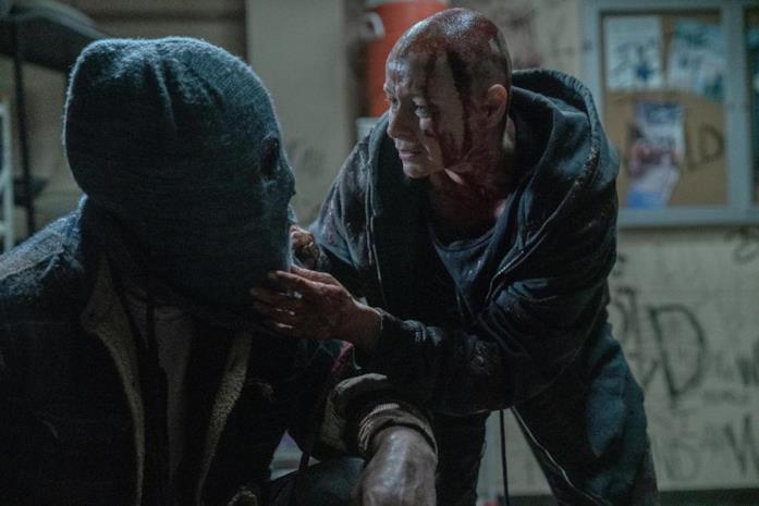The Walking Dead 10x02, il primo incontro tra Alpha e Beta