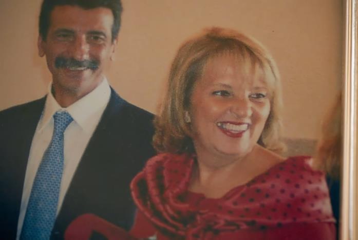 Lorenzo Caramma e Silvana Saguto in una scena della docu-serie Netflix Vendetta - Guerra nell'antimafia