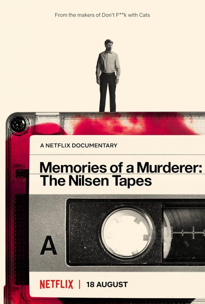 Il poster ufficiale di Memorie di un omicida: i nastri di Nilsen