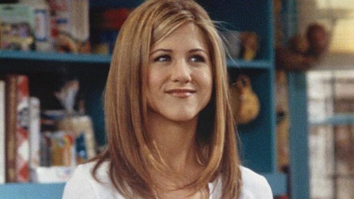 Rachel Green in una scena di Friends