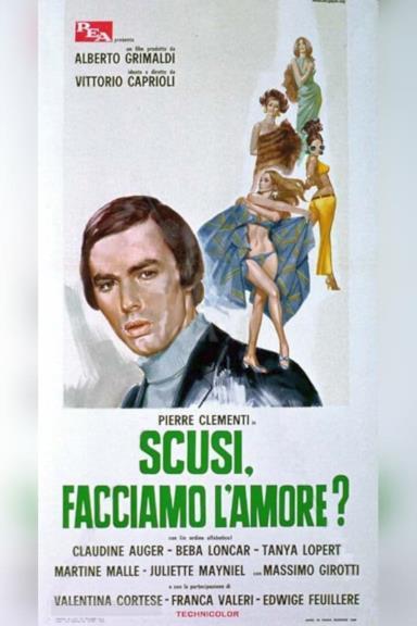 Poster Scusi, facciamo l'amore?