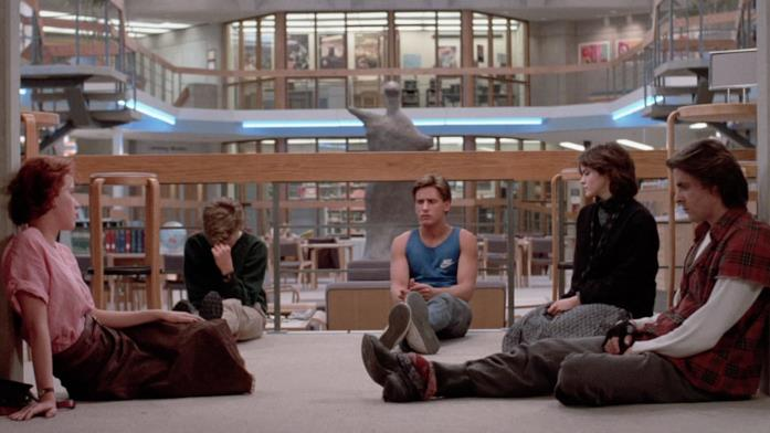 I protagonisti di Breakfast Club