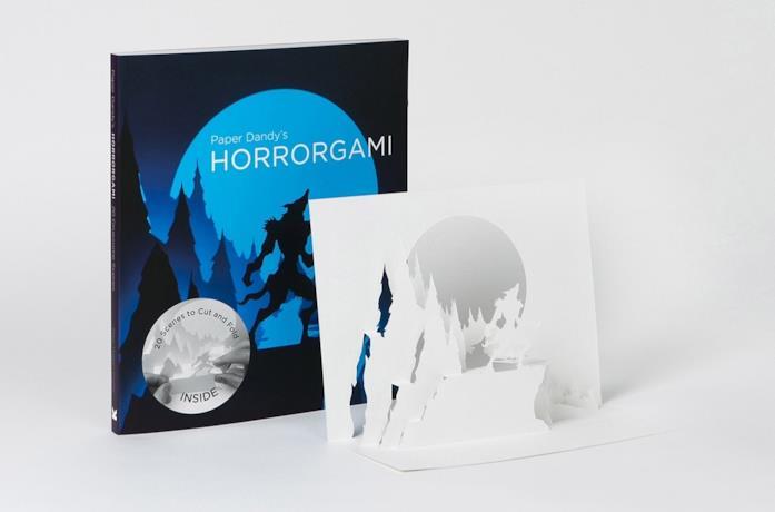 La copertina del libro Horrorgami di Paper Dandy