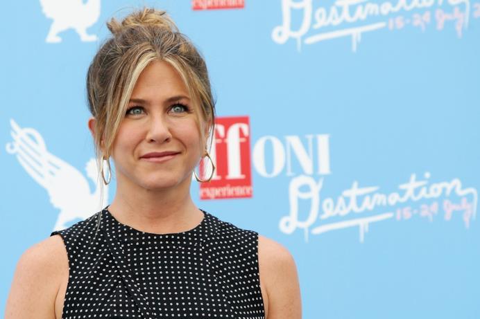 Jennifer Aniston ospite d'onore al Giffoni Film Fest 2016