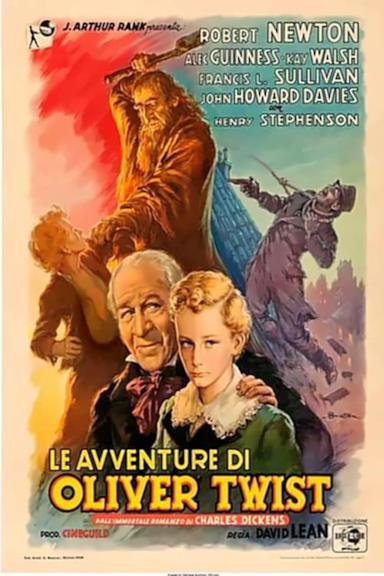 Poster Le avventure di Oliver Twist
