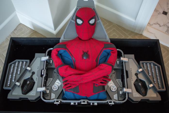 Il costume di Spider-Man