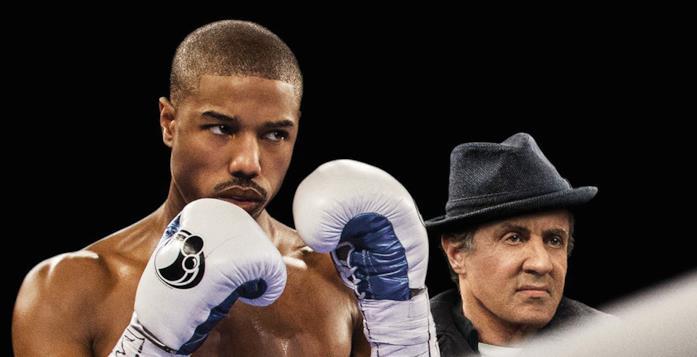 Michael B. Jordan e Sylvester Stallone in Creed - Nato per combattere