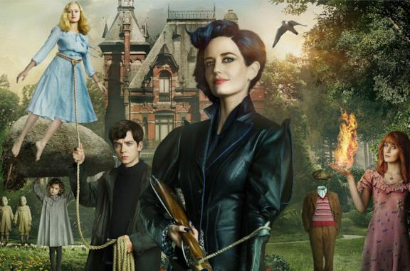 La cover di Miss Peregrine