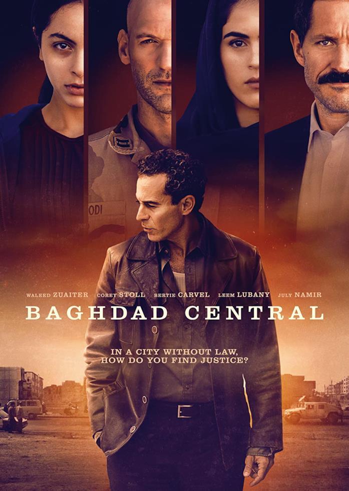 Il poster della serie Baghdad Central
